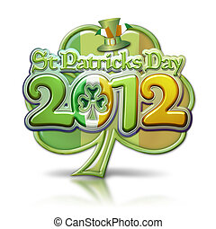 St Pats Day Clover 2012 Graphic