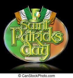 St Pats Day oval 2 b