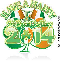 St Pats Day Shamrock 2014