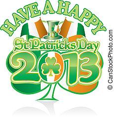 St Pats Sham Happy 13