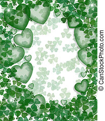 St Pattys Day background