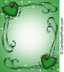 St Pattys Day Border Background