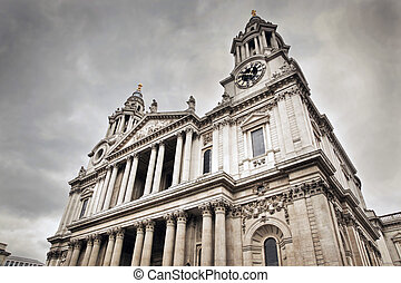 St Paul's Cathedral in London, the UK.