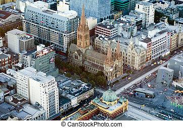 St Paul's Cathedral - Melbourne - MELBOURNE, AUS - APR 13...