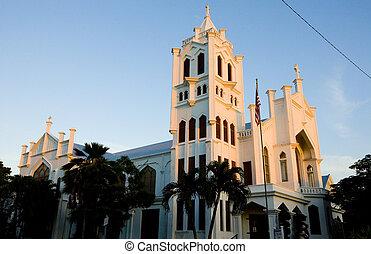 St. Paul's Church, Key West, Florida Keys, Florida, USA