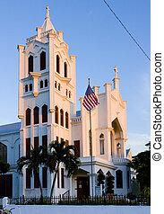 St. Paul\'s Church, Key West, Florida Keys, Florida, USA