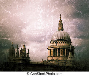 St Pauls in London,UK.