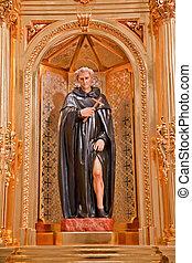 St Peregrine Statue Mission Basilica San Juan Capistrano ...