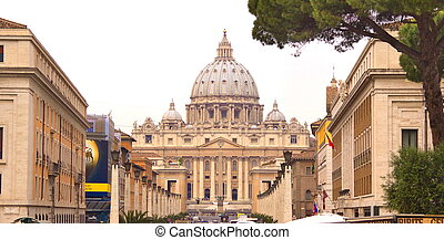 St, Peters basilica, Rome, Vatican, Italy