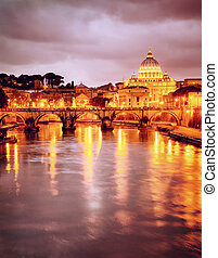 St. Peter's cathedral in Vatican, Italy