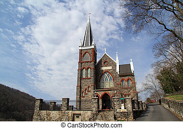 st peters, chiesa cattolica, in, arpisti traghettano
