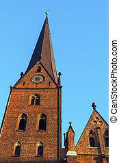 St. Peter's church in Hamburg