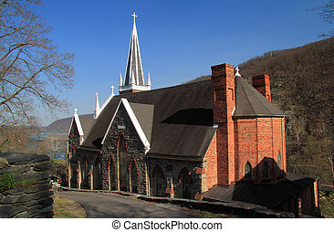 St Peters Roman Catholic Church in Harpers Ferry