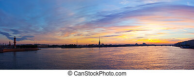 St. Petersburg in morning