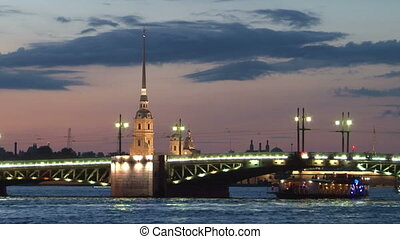 St. Petersburg. Palace Bridge