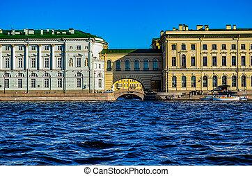 St. Petersburg, Palace Embankment,