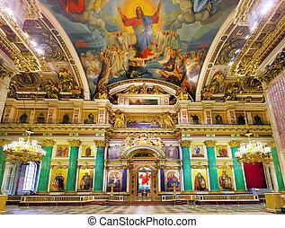 ST. PETERSBURG, RUSSIA FEDERATION - JUNE 29:Interior of...