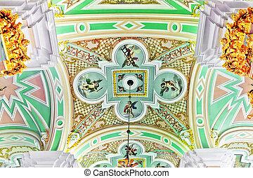 ST. PETERSBURG, RUSSIA FEDERATION - JUNE 27:Interior of...