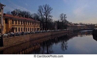 St. Petersburg, Russia, Fontanka river