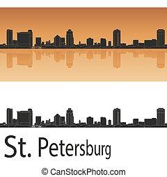 St. Petersburg skyline