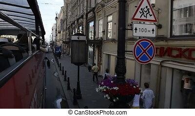 St. Petersburg, Tour Bus