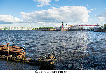 St. Petersburg. View on Vasilevsky Island