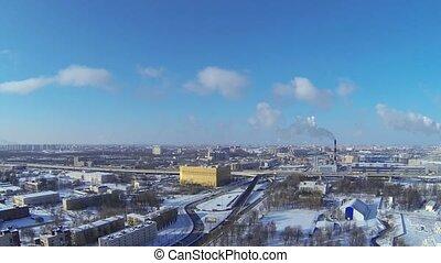 St. Petersburg winter, time lapse - St. Petersburg winter,...