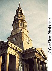 St. Philip's Episcopal Church in Charleston, SC.