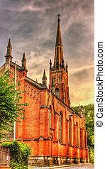 St. Saviour's Anglican Church in Riga, Latvia