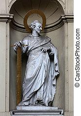 St. Simon the Apostle, Church of Saint Peter in Vienna,...