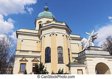 st., stanislaus, guarnigione, chiesa, in, radom