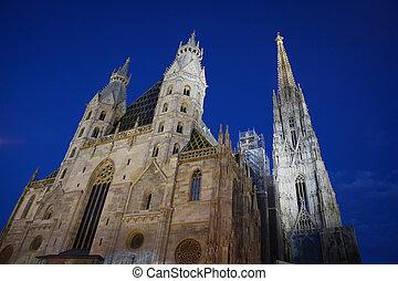 st., stephans, cattedrale, vienna, austria