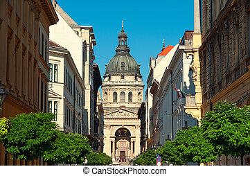St. Stephen Basilica, Budapest.