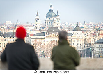 St. Stephen Church in Budapest, Hungary.