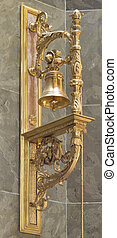St. Stephen's Basilica, igolden bell - Golden bell in St....