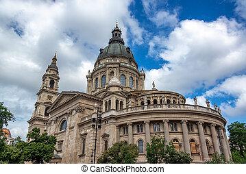 St. Stephens Basilica in Budapest, Hungary