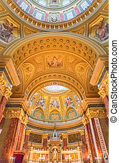 St. Stephen's Basilica in Budapest Hungary