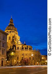 St. Stephens Basilica - St. Stephen's Basilica in the...