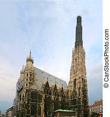 St. Stephens Cathedral. Austria, Vienna
