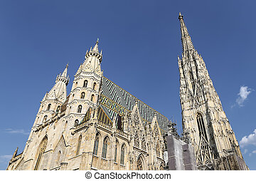 St Stephens Cathedral in Vienna, Austria - St Stephens...