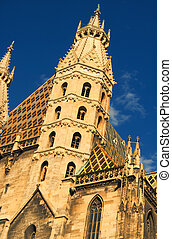 St Stephens Cathedral, Vienna, Austria at daylight