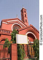 St Stephens Church, Chandini Chownk, Delhi, India