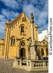 St. Stephen's Church in Bratislava