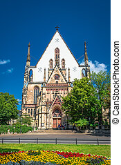 St. Thomas Church in Leipzig, Germany