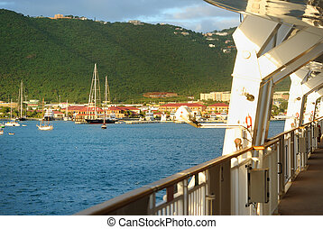 St. Thomas From a Cruise ship