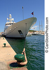 St Tropez?s port, France