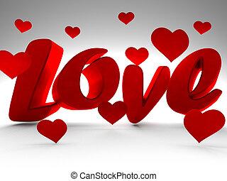 st., vacanza, lov, giorno, valentine