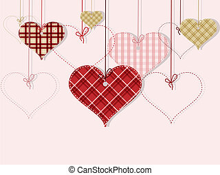 St Valentine day's greeting card - Vector St Valentine day's...