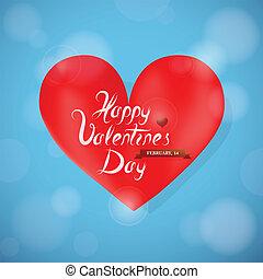 St Valentine greeting card design w - St. Valentines...