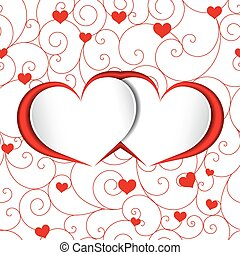 St Valentine Heart Shape Background - St Valentine Heart...